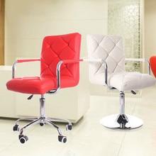 European simple fashion fabric bar chair bar stool barber high chair soft comfortable height adjustable free shipping цены