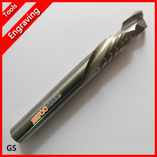 12*35*100L Up&Down cutter, two flutes end milling,cnc router bits for Acrylic,MDF,PVC,Aluminum