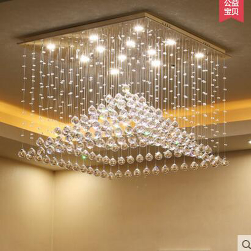 New modern minimalist led crystal lamp chandelier luxury living room warm bedroom restaurant lights creative meal lamps nordic modern minimalist living room crystal restaurant chandelier crystal creative led art bar warm bedroom lamps led fixture