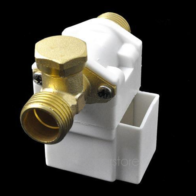 цена на HOT Durable Solenoid Valve Electric Solenoid Valve For Water Air N/C 12V DC 1/2 Normally Closed