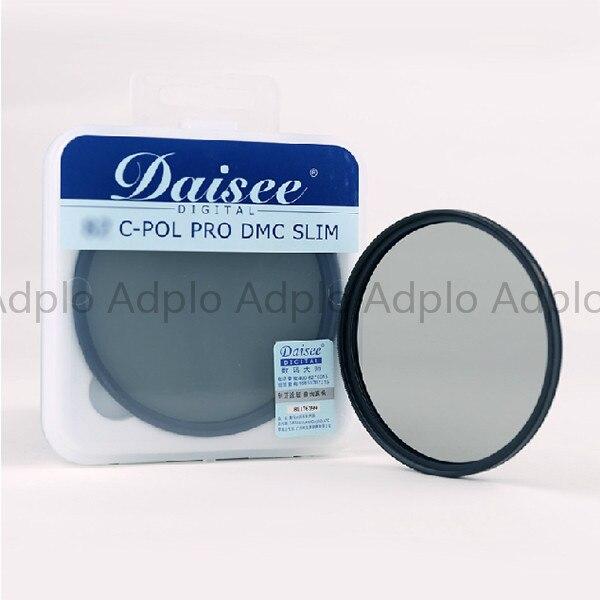82 mm Daisee multi-coating Circular-Polarizing camera filter / C-POL PRO DMC SLIM MC CPL Filter