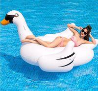 Высокое качество! 75 дюймов 1,9 м гигантский Лебедь бассейна ездить на бассейн игрушка поплавок, Бесплатная доставка!