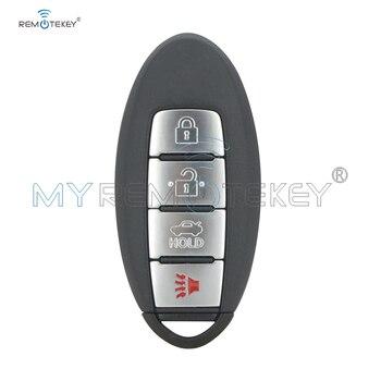 Remtekey الذكية مفتاح السيارة لنيسان سنترا 2013 2014 2015 4 زر 433 mhz ID46 رقاقة CWTWB1U787 عن بعد سيارة مفتاح