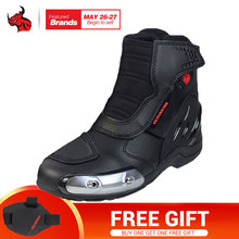 SCOYCO Microfiber Leather Motocross Off Road Racing Ankle Boots Motorcycle Riding Boots Street Riding Shoes Protective