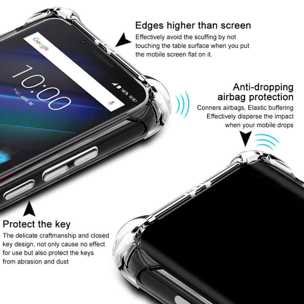 Anti knock Shockproof  Transparent TPU Phone Case for Samsung Galaxy Note 10 10+ Galaxy A7 2017  J7 2016 A2 Core Soft Cases