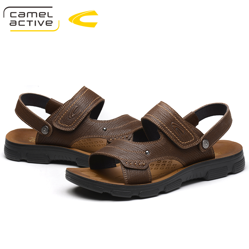 Camel Active Brand New Arrival Fashion Casual Male Sandals For Men Shoes Adult Summer Adolescents Comfortable On Foot Sandals