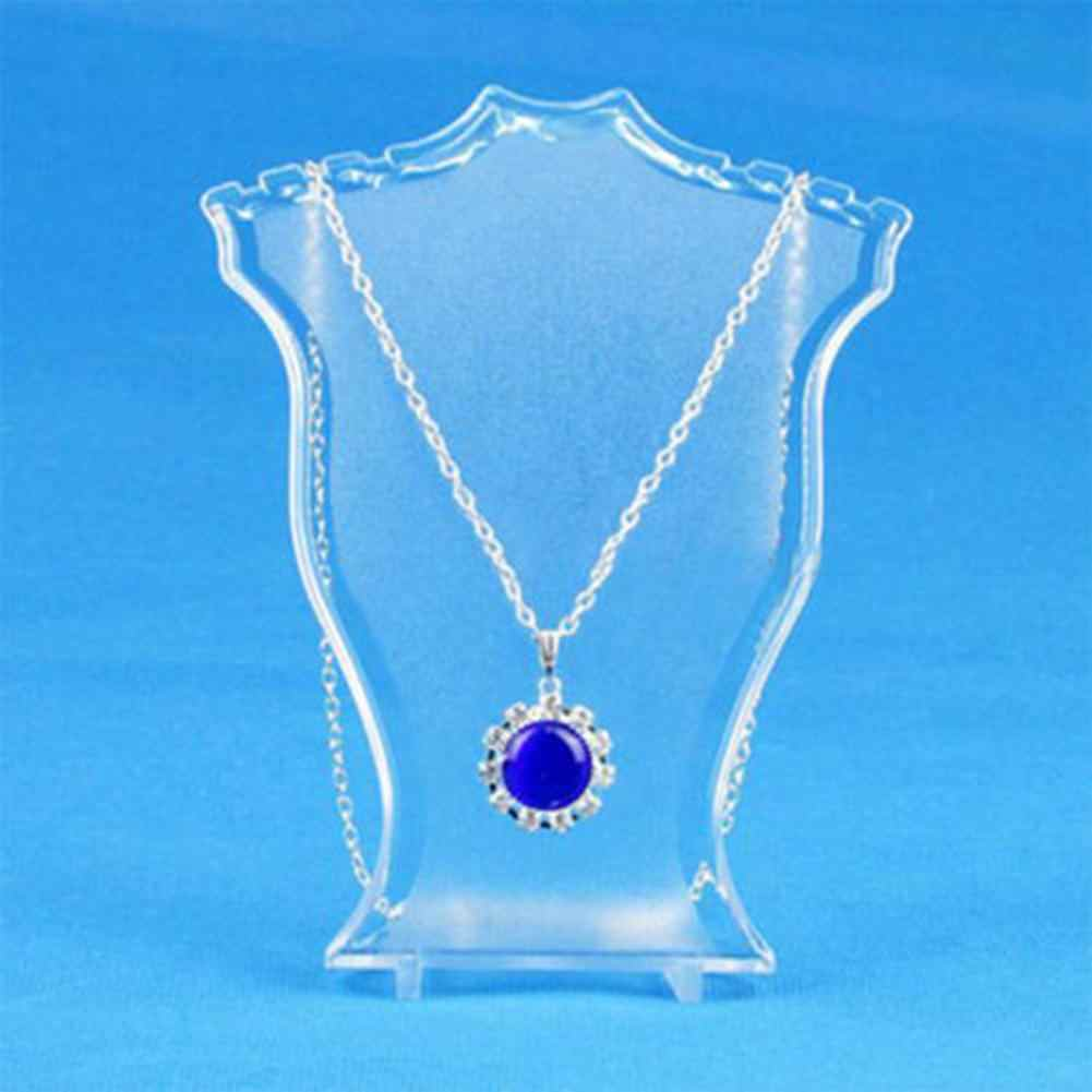 High brief Pendant Necklace Earrings Bust Neck Jewelry Display Stand Holder Showcase