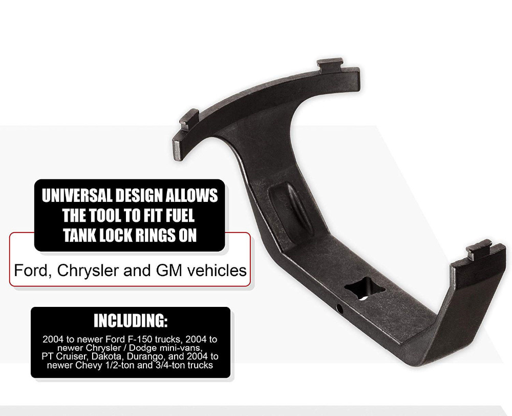 Chuang Qian Universal Fuel Pump Sender Tank Lock Rings Wrench Tool 6599 Lid Removal For Dodge Chevy Mercury Nissan Pontiac SAAB in Tank Covers from Automobiles Motorcycles