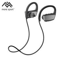 Novo fone de Ouvido Em Execução Fones de Ouvido Bluetooth À Prova D' Água para a Natação Ipx8 Fones De Ouvido com Microfone Estéreo Baixo Esporte Mais esporte