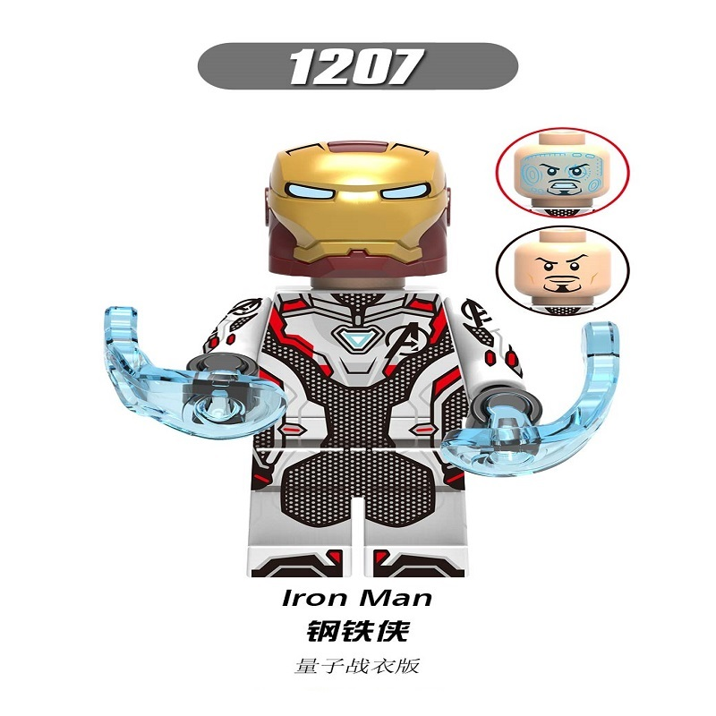 X1207 Single Sale Super Hero Building Blocks Avengers 4 End Game Ironman Captain America Black Widow Thor Ant-Man Figures bricks image