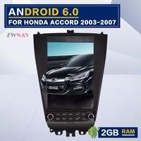ZWNVA Tesla Style Screen Newest Android 6 0 64 2G Car Radio GPS Navigation Newest Haed
