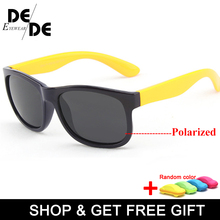 Polarized Kids Sunglasses Children Boys Girls Safety Brand Glasses Flexible Rubber Frame Child Shades