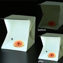 Новые все-в-одном Портативный Мини Складная Аксессуары для фотостудий Box Фон фотографии встроенный световой Фон фотографии коробка