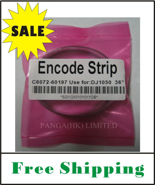 (free shipping) C6072-60197 for DesignJet 1050C/1050CM Encoder Strip (36inch) OEM replacement brand new