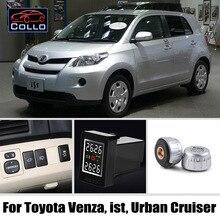 Специальные TPMS система контроля давления в шинах для Toyota Venza ist Urban Cruiser/давление в шинах Давление мониторинга Системы внешних датчики/DIY установить так легко