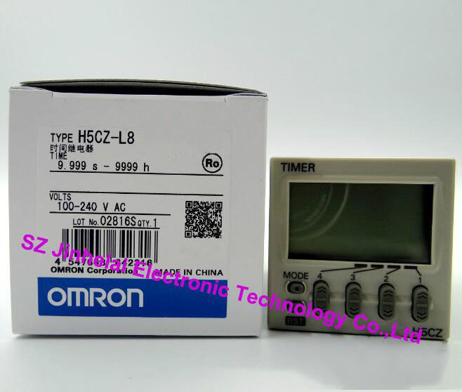 100% New and original H5CZ-L8, H5CZ-L8D OMRON TIME RELAY [zob] 100% new original omron omron proximity switch e2e x10d1 n 2m