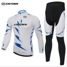 Xintown marca de secado rápido ciclo jersey establece hombres mujeres desgaste de la bicicleta de montaña bicicleta de carreras ropa ropa conjunto ciclismo