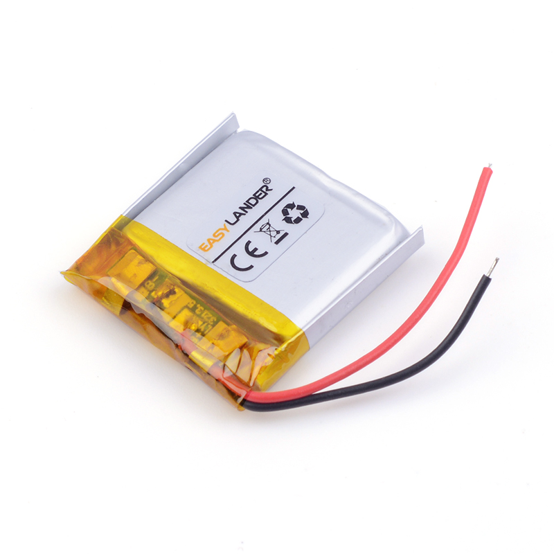 3.7V lithium Li ion polymer rechargeable battery <font><b>402525</b></font> 250MAH Bluetooth headset speakers steelmate small toys 042525 MP3 MP4 image