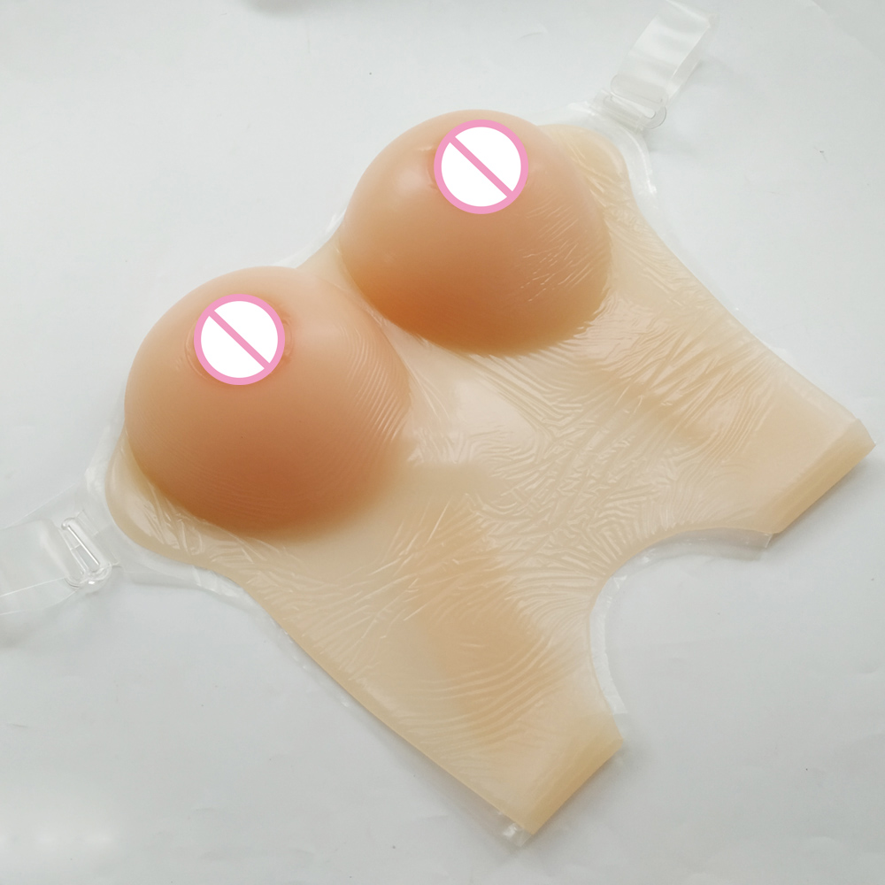 Fake boobs 800g/pair C Cup Silicone breast forms for crossdresser Enhancer shemale Trandsgender tit Realistic silicone breast 800g c cup realistic silicon breast forms strap fake boobs for crossdresser and drag queen breast bust enhancer