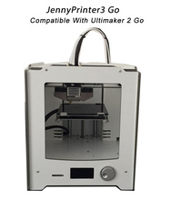 2017 Newest Assembled JennyPrinter 3 Go Compatible With Ultimaker 2 UM2 Go High Precision Auto Leveling 3D Printer