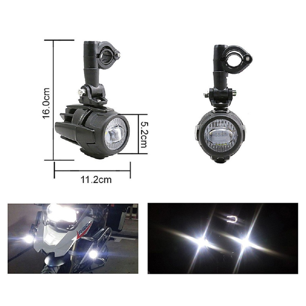 Hot Sell Motorcycles Led Fog Light Protect Guards With Wiring Bmw Motorcycle Harness 1 Set Universal Auxiliary Assembly Driving Lamp 40w Headlight For R1200gsadvf800gs