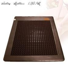 2018 высокое качество германий отрицательных ионов спальный матрас с подогревом Турмалин лучшие матрасы по спине Бесплатная доставка 1.2×1.9 м