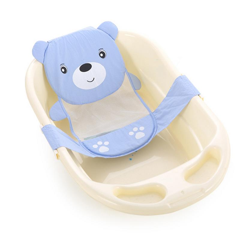 Baby Bathing Net Bed Support Baby Care Adjustable Infant Shower Bath Bathing Bathtub Baby Bath Net Safety Security Seat Support