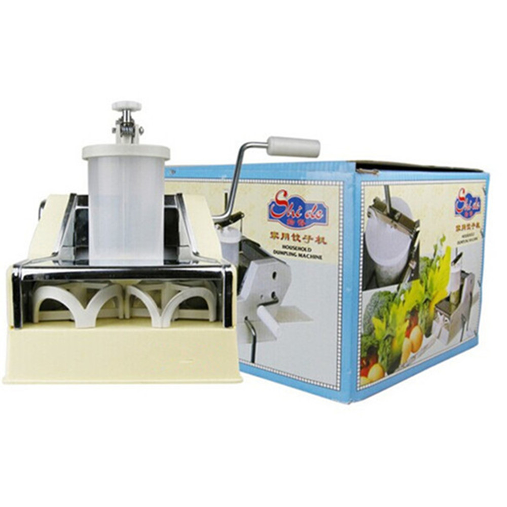 Rapid dough press dumpling making machine new design manual gyoza dumplings maker high quality household manual hand dumpling maker mini press dough jiaozi momo making machine