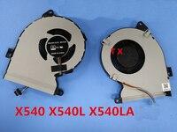 NOVO VENTILADOR de REFRIGERAÇÃO da CPU PARA ASUS X540 ORINGAL X540LJ X540SA X540LA X540Lj X540YA X540UP REFRIGERADOR de VENTOINHA CPU DSF2004057S0T FHM7|Ventiladores e resfriadores| |  -