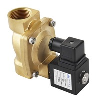 Forever Speed solenoid valve G1 for industrial air water fluid control Solenoid Valve Brass AC 230V Normally Closed N/C 16Bar