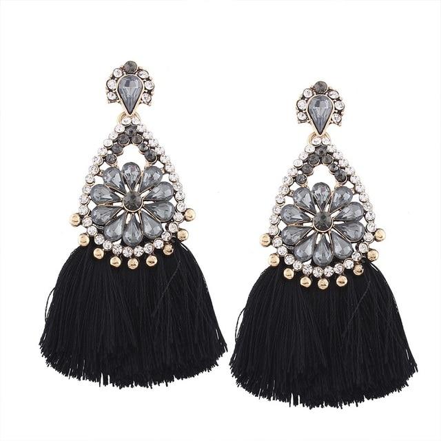 Купить женские висячие серьги lzhlq богемные винтажные подвески в стиле