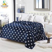 Throws Coral Flannel Blanket Home Textile Plaid Solid Air Sofa Bedding Autumn Winter Warm Soft Bedsheet