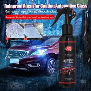 Image 4 - Franchise 120ml Large Capacity FIX 9H Nano Car Liquid Coat Mirror Rainproof Agent Flooding Glass Rain Mark Oil Film Remover #518