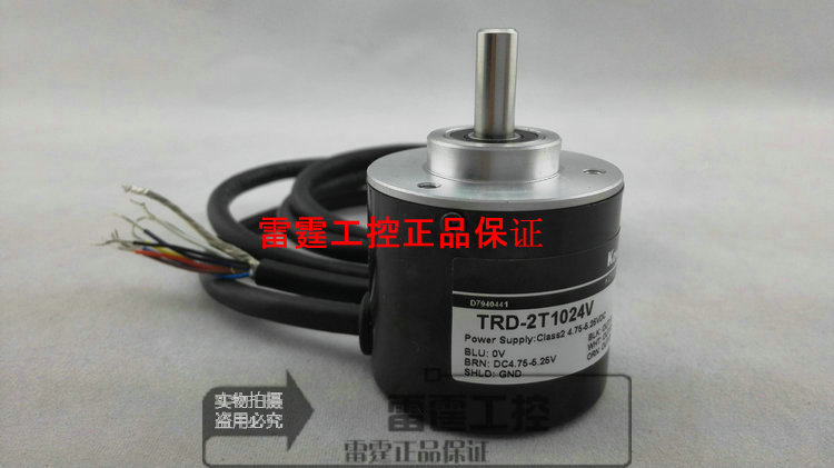 KOYO new original authentic real axis photoelectric incremental rotary encoder TRD-2T1024V new original authentic koyo koyo photoelectric incremental hollow shaft rotary encoder trd 2th1024v