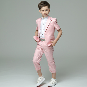 Image 5 - Детская одежда Dollbling синяя белая пудра с коротким рукавом летнее платье удобный костюм на день рождения детский костюм с мелкими швами