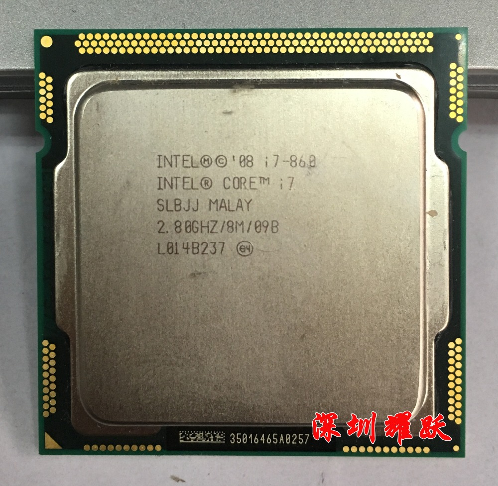 Intel Core i7-860 Processor (8M Cache, 2.80 GHz) LGA1156 Desktop CPU image