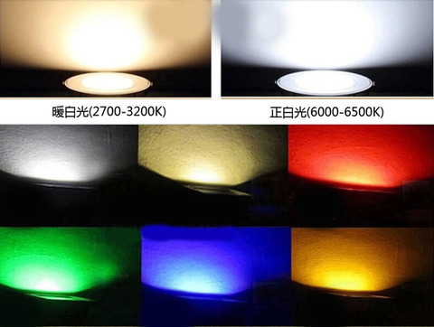ip65 ac85 265v rgb luzes do