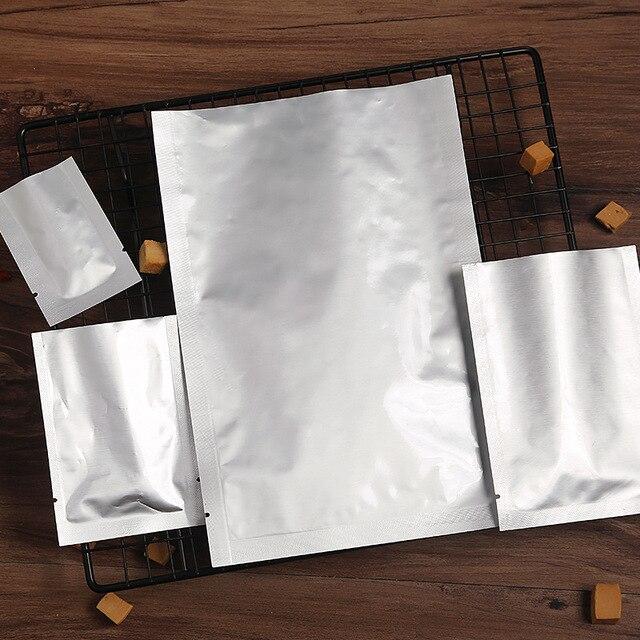 Hoomall 100 pcs Multisize Zip Lock Bolsas de Armazenamento de Pacote De Armazenamento De Alimentos Para Cozinha Ferramentas Aferidor Do Vácuo Da Folha de Alumínio Sacos de Mylar