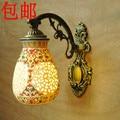 Китайский стиль керамическая настенная лампа ofhead винтажные керамические настенные светильники Настенные светильники для гостиной столов...