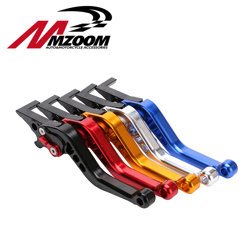 FREE SHIPPING Motorcycle CNC aluminum Shorty Adjustable Brake Clutch Levers For Honda GROM MSX 125 2013 - 2015