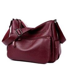 Female Casual Shoulder Bags Women Leather Handbags Ladies Shoulder Bag Design Zipper Hobos Women's Messenger Bags Bolsa Feminina