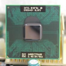 Intel Core P8600 Dual Core 3M Cache 2.40GHz 1066MHz Socket P  Laptop notebook CPU