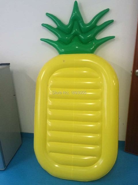 Inflatable Pool Toys Summer Fun Bali Island Holiday 1.8m Pineapple Air Mattress Swim Pool Float Water Raft Air Bed boia