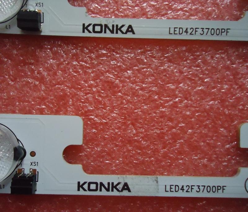 FOR konka LED42F3700PF Article lamp  35018502 1piece=5LED for haier le50a5000 50du6000 article lamp v500h1 me1 tlem9 1piece 68led 623mm