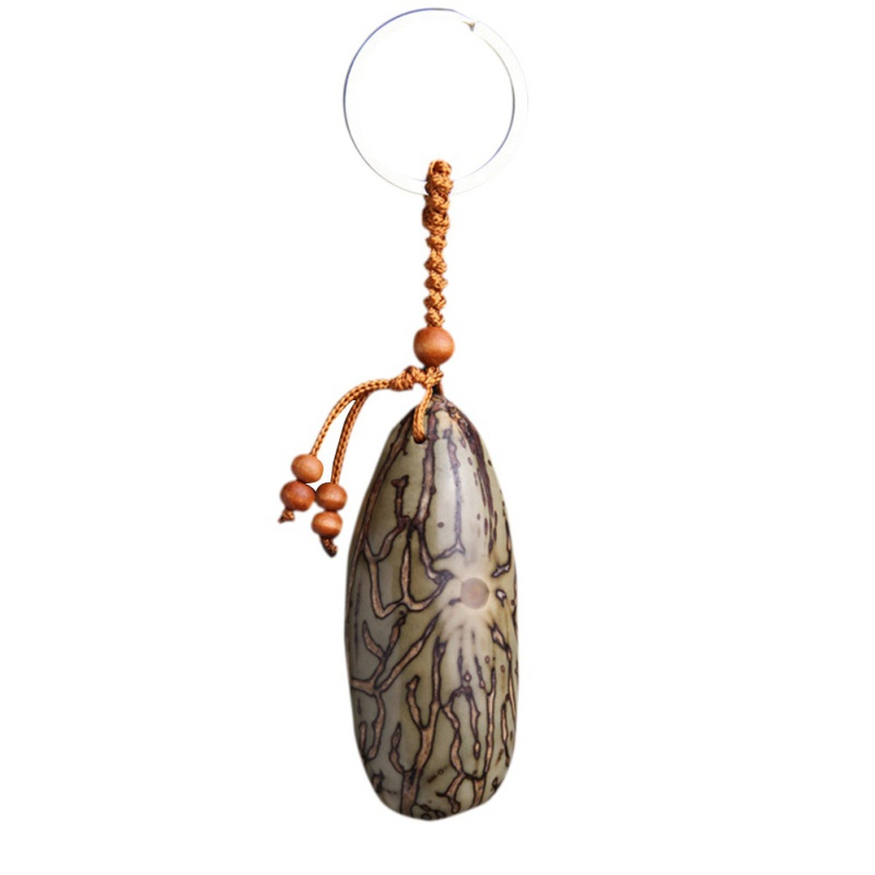New Key Rings China Natural Thousands Of Eyes Bodhi Keychain Key Ring For Men Jewelry Handbag Car Key Decorate Buddha Key Chains
