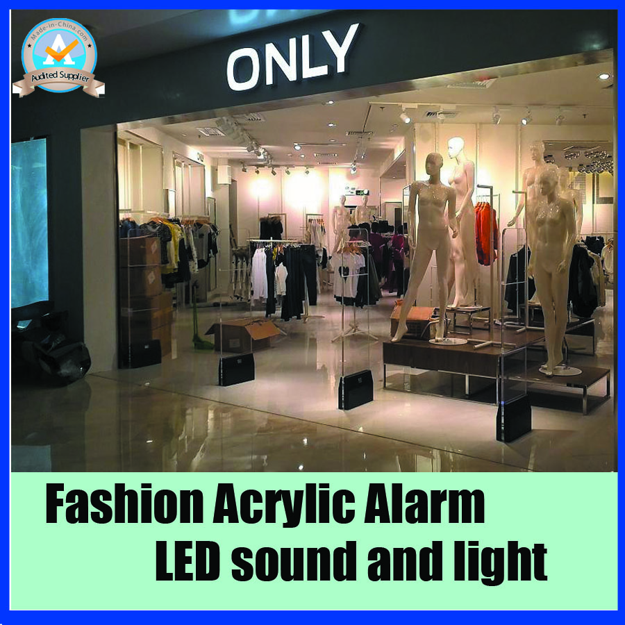 Clothing security eas ,RF8.2Mhz eas security alarm system,anti shoplifting system with LED light and sound alarm все цены