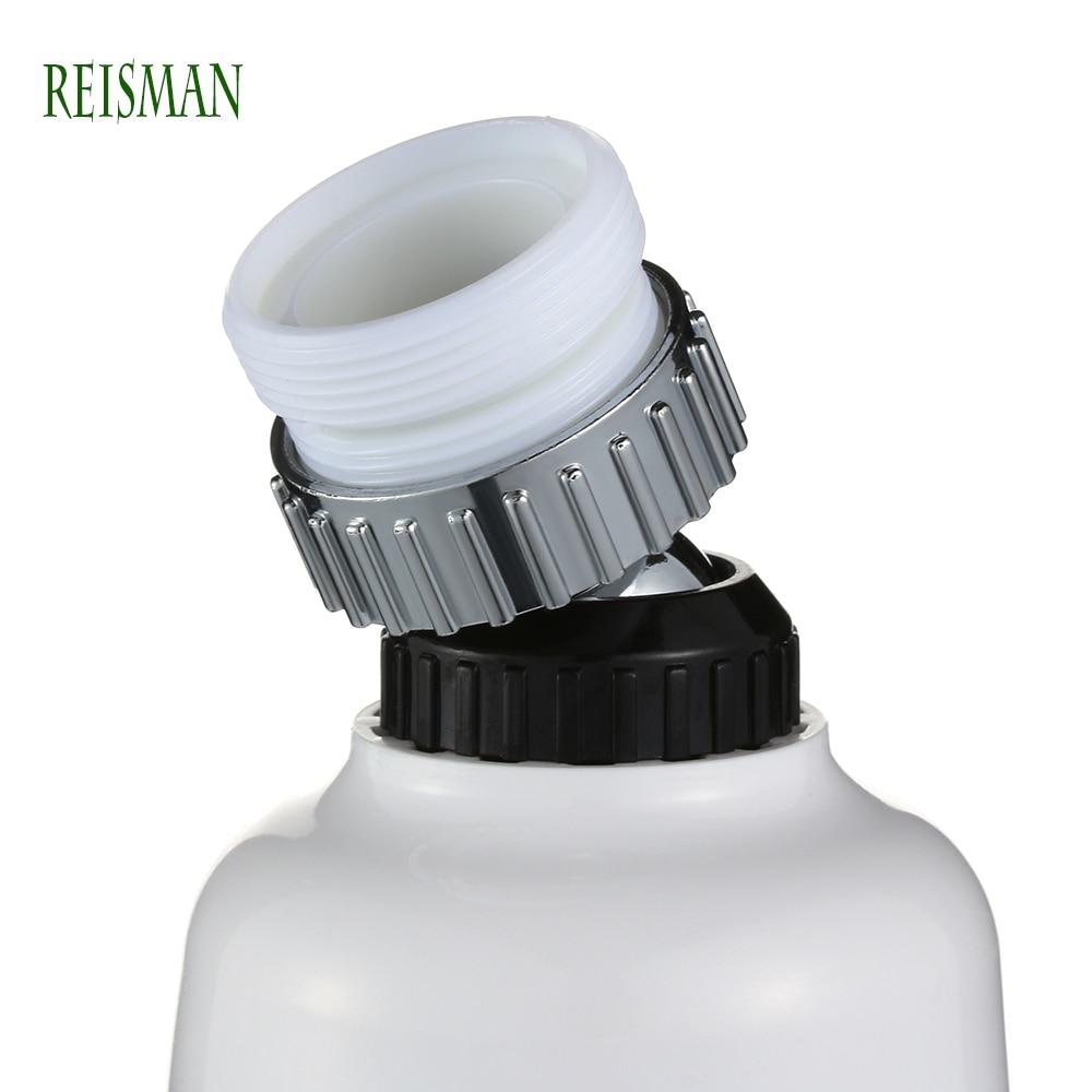 Reisman 1pc Mobile Head Kitchen Faucet Universal 360 Degree Rotatable Water Tap Sprayer Faucet Splash Regulator