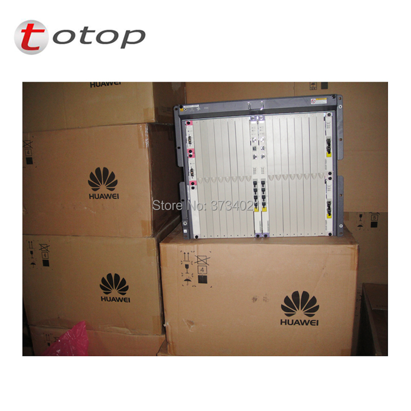 Image 5 - Huawei MA5680T OLT with Chassis + SCUN*2 + GICF*2 + PRTE*2 Original MA5680T GPON EPON OLT-in Fiber Optic Equipments from Cellphones & Telecommunications