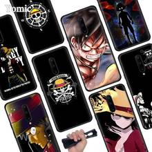 Japanese anime collage one piece luffy Black Soft Case for Oneplus 7 Pro 7 6T 6 Silicone TPU Phone Cases Cover Coque Shell