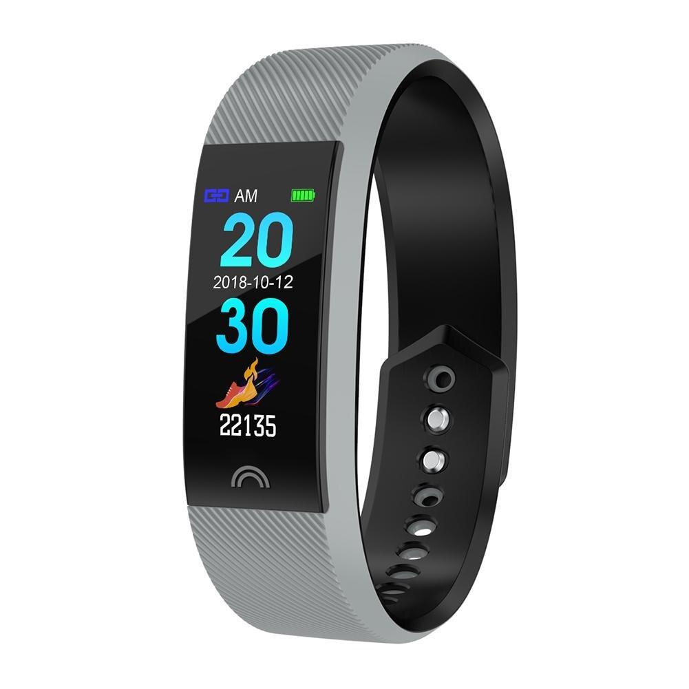 Capace F6 Bluetooth Durevole Braccialetto Intelligente Di Frequenza Cardiaca Pressione Sanguigna Messaggio Di Promemoria Wristband